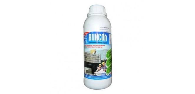 Пластификатор Винсол для бетона 1 л