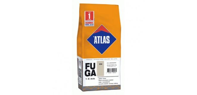 Фуга Atlas 136 серебряный Замазка для швов 1–6 мм, 2 кг