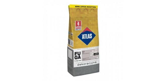 Фуга Atlas Декоративная замазка для швов 1-15 мм, 2 кг