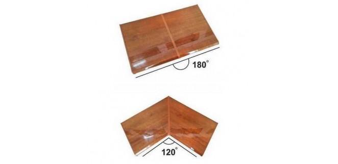 Соединение для подоконника 700 мм (углы 120 и 180)