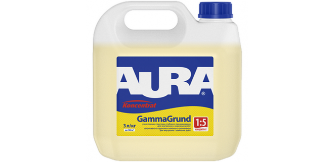 AURA Koncentrat GammaGrund 1:5 3 л