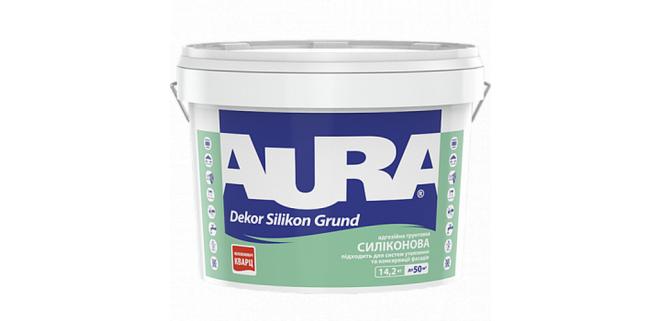 AURA Dekor Silikon Grund Грунт-краска с кварцевым песком 10 л