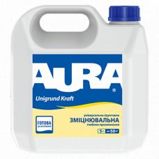 Aura Unigrund Kraft Универсальный укрепляющий грунт глубокого проникновения 5 л