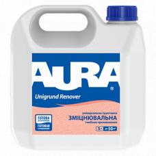 Aura Unigrund Renover Универсальный укрепляющий грунт глубокого проникновения 1 л