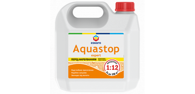Eskaro Aquastop EXPERT грунт концентрат 1:12 0,5 л