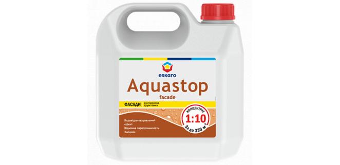 Eskaro Aquastop FACADE грунт концентрат 1:10 1 л