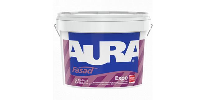 Универсальная краска Aura Fasad Expo 20 л
