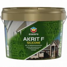 Фасадная краска Akrit F Silicone 2,7 л