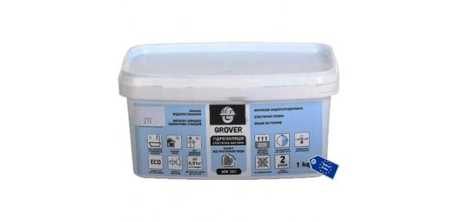 Grover MW 301 мастика гидроизоляционная 1 кг