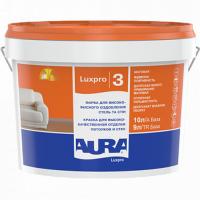 Aura Luxpro 3 матовая краска для высококачественной отделки потолков и стен 10 л