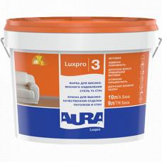 Aura Luxpro 3 матовая краска для высококачественной отделки потолков и стен 1 л