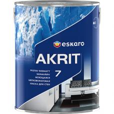 Eskaro Akrit 7 TR моющаяся шелково-матовая краска для стен 0,9 л