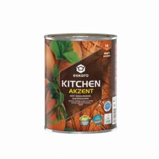 Eskaro Akzent Kitchen TR матовая влагостойкая особо прочная краска для внутренних работ 0,9 л