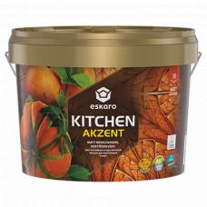 Eskaro Akzent Kitchen матовая влагостойкая особо прочная краска для внутренних работ 0,9 л