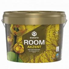Eskaro Akzent Room матовая износостойкая интерьерная краска 2,7 л