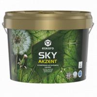 Eskaro Akzent SKY глубокоматовая краска с высокой укрывистостью для потолков 9 л