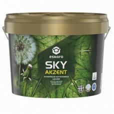 Eskaro Akzent SKY глубокоматовая краска с высокой укрывистостью для потолков 0,9 л