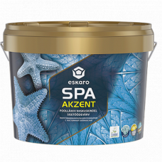 Eskaro Akzent SPA полуглянцевая краска для помещений с постоянной влажностью 2,7 л