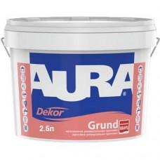 AURA Dekor Grund Грунт-краска с кварцевым песком 2,5 л