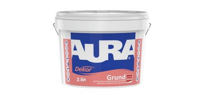 AURA Dekor Grund Грунт-краска с кварцевым песком 10 л
