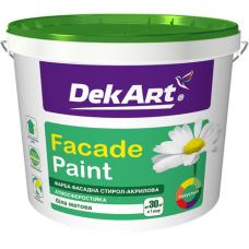 Краска фасадная DekART Faсade 20 кг