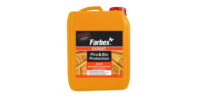 Farbex Средство огнебиозащитное для древесины 10 л
