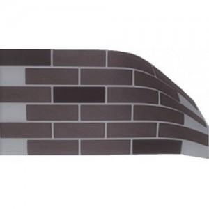 Гибкий клинкер Elastoclin на полотне Loft 3*1000*495 мм, размер плитки 240*71 мм
