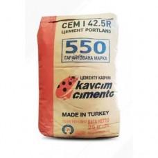 Цемент ПЦ-500 (М550) (25 кг) Kavcim Турция