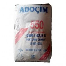 Цемент ПЦ-500 (М550) (25 кг) ADOCIM Турция