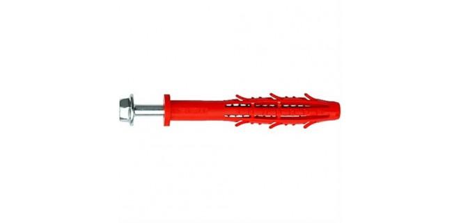 Дюбель универсальный фасадный полиамидный KAXDN/CTR 10х90 с шестигранным шурупом термодиф.