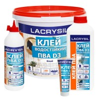 Клей ПВА универсальный D3 LACRYSIL 2 кг