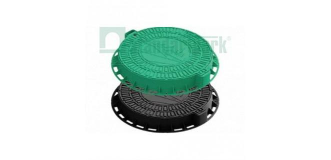Люк Л-60.80.10-ПП садовый пластиковый зеленый арт. 35188-82Д