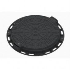 Люк садовый квадратный пластиковый черный арт. 35878-Ч