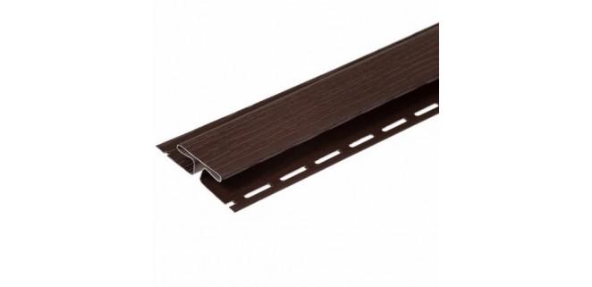 Планка соединительная FaSiding 3,05 м (коричневая)