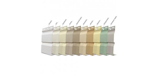 Панель FaSiding Standard 3,85х0,255 м (10 цветов)