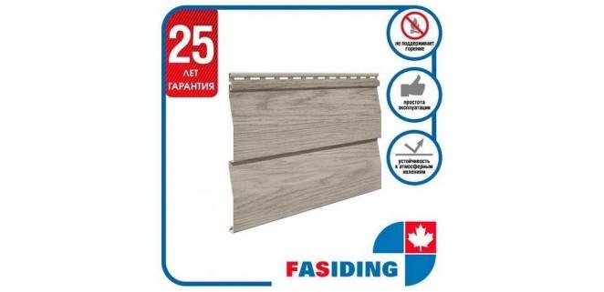 Панель FaSiding WoodHouse 3х0,25 м Мореный дуб