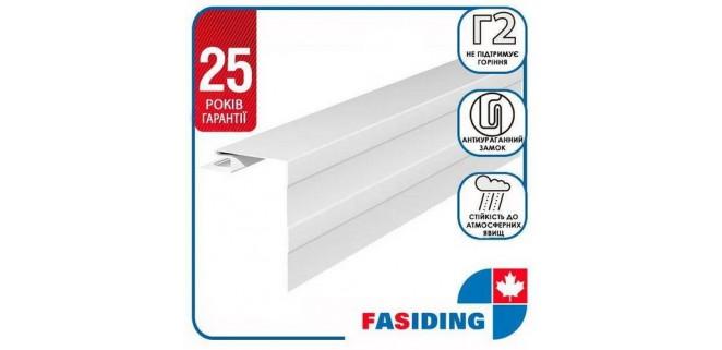 Планка околооконная малая FaSiding WoodHouse 0,115х3,05 м Белая