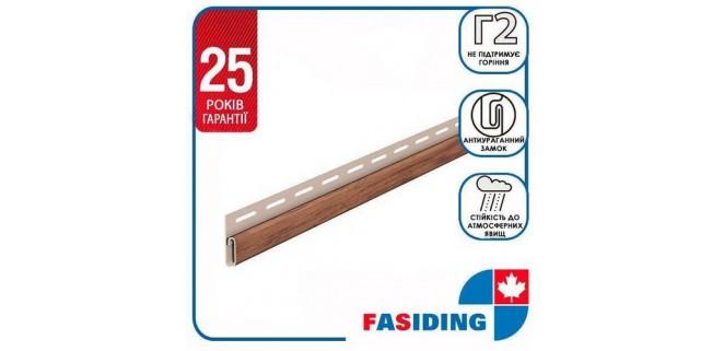 Планка финишная FaSiding WoodHouse 3,05 м Золотой дуб