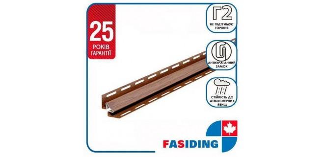 Планка угол внутрений FaSiding WoodHouse 3,05 м Золотой дуб