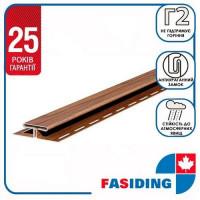 Планка соединительная FaSiding WoodHouse 3,05 м Золотой дуб