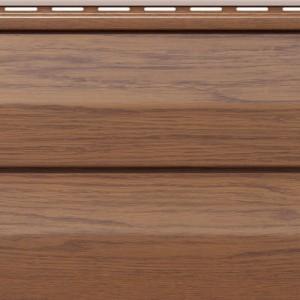 Панель FaSiding WoodHouse 3х0,25 м Золотой дуб