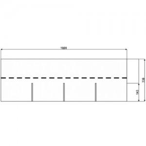 Битумная черепица АПП-модифицированная IKO Monarch 4TAB однослойная Премиум класс