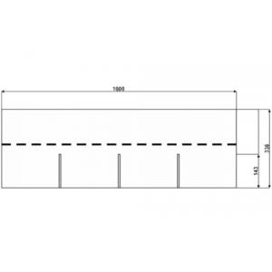 Битумная черепица АПП-модифицированная IKO Armourglass PLUS однослойная
