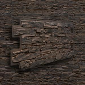 Панель фасадная Solid Stone 1,00х0,42 м (6 цветов)