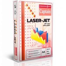 Бумага офисная Captain Laser Jet, формат A4, 80 г/м2, 500 листов, класс А, белая