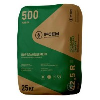 Цемент ПЦ I-500-Д20-Н (25 кг) Ивано-Франковск (заводская тара)
