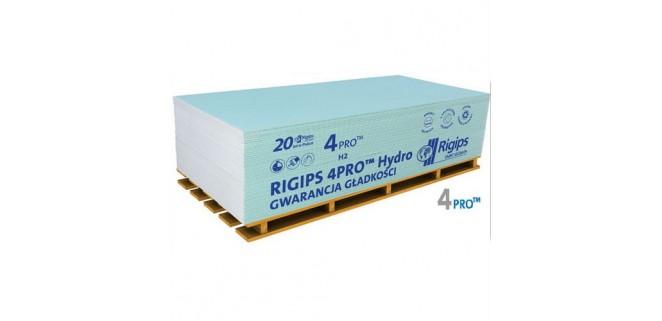 Гипсокартон влагостойкий 2,6 м RIGIPS 4PRO 1200*2600*12,5 мм