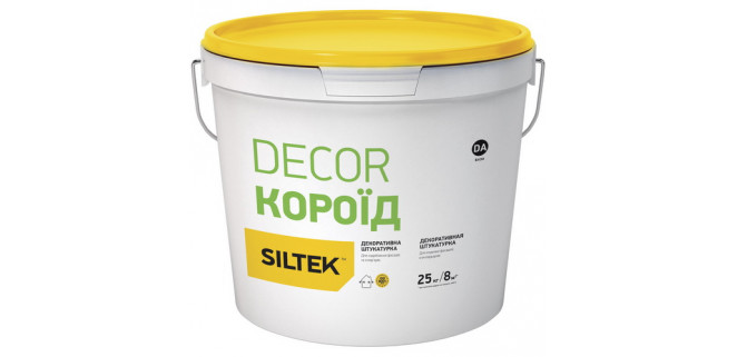 SILTEK DECOR Короед 2 мм белая (база DА)