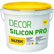 SILTEK DECOR SILICON PRO Камешковая 1,5 мм белая (база DА)