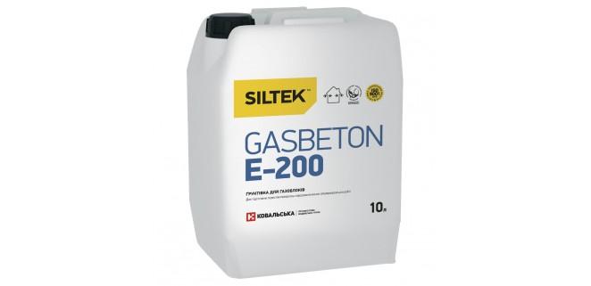 SILTEK E-200 Грунтовка для газоблоков 10 л